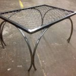 steel arch table