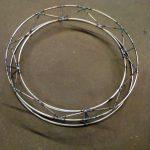 circle steel truss model