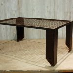 Denice metal coffee table