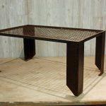 Denice metal coffee table