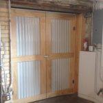 custom door commercial warehouse space