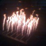 square flame bar