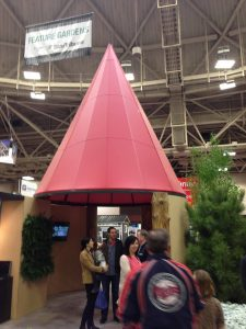 trade show gnome hat