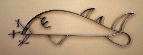 Wobegong metal fish Alton